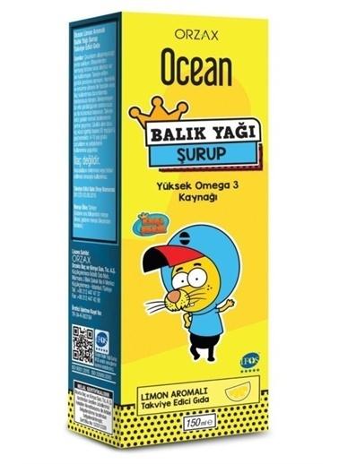 Orzax Orzax Ocean Balık Yağı Şurubu  Aromalı 150Ml   Kral Şakir Vitamin Ve Mineral İÇeren Gıda Takviyesi Renksiz